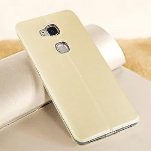 Vintage pouzdro na mobil Honor 5X - zlaté - 2