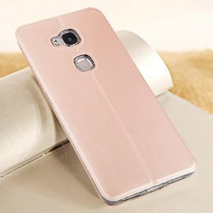 Vintage pouzdro na mobil Honor 5X - rose gold - 2