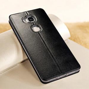 Vintage pouzdro na mobil Honor 5X - černé - 2