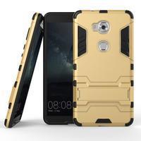 Outdoor odolný kryt na mobil Honor 5X - zlatý - 2/2