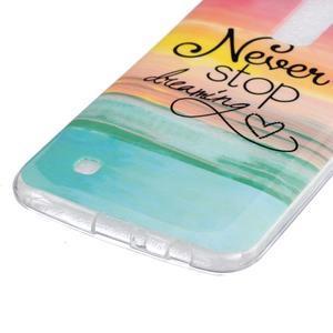 Fony gelový obal na mobil LG K10 - nepřestávej snít - 2