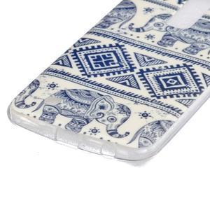 Fony gelový obal na mobil LG K10 - sloni - 2