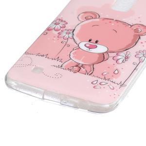 Fony gelový obal na mobil LG K10 - medvídek - 2