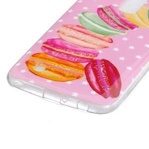 Fony gelový obal na mobil LG K10 - makronky - 2