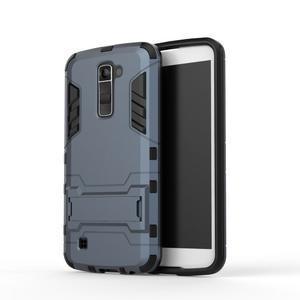 Odolný kryt na mobil LG K10 - tmavěmodrý - 2