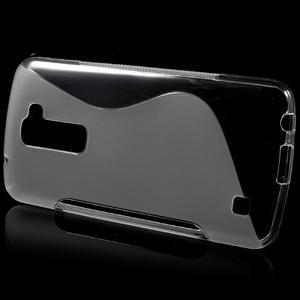 S-line gelový obal na mobil LG K10 - transparentní - 2