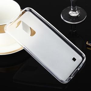 Stter matný gelový obal na mobil LG K10 - bílý - 2