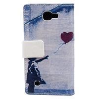 Style peněženkové pouzdro na LG K4 - holčička - 2/5