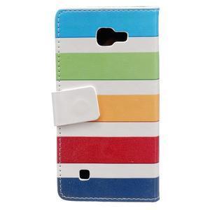 Style peněženkové pouzdro na LG K4 - barvy - 2