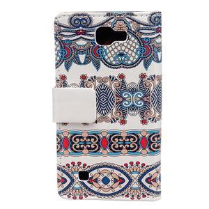 Style peněženkové pouzdro na LG K4 - pattern - 2