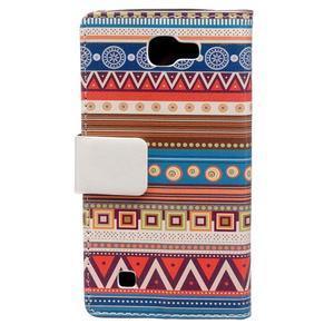 Style peněženkové pouzdro na LG K4 - tribal - 2