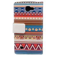 Style peněženkové pouzdro na LG K4 - tribal - 2/5