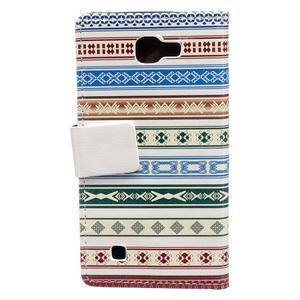 Style peněženkové pouzdro na LG K4 - ethnic - 2