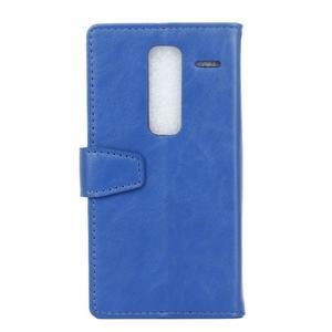 Sitt PU kožené pouzdro na mobil LG Zero - modré - 2