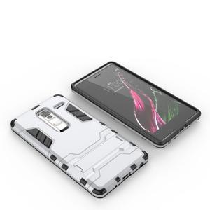 Outdoor odolný kryt na mobil LG Zero - stříbrný - 2