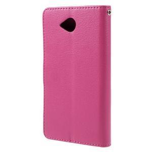 Funny peněženkové pouzdro na mobil Microsoft Lumia 650 - rose - 2