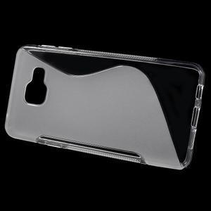 S-line gelové obal na mobil Samsung Galaxy A3 (2016) - transparentní - 2