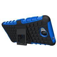 Outdoor odolný obal na mobil Microsoft Lumia 650 - modrý - 2/5
