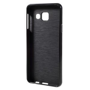 Gelový obal na mobil Samsung Galaxy A3 (2016) - černý - 2