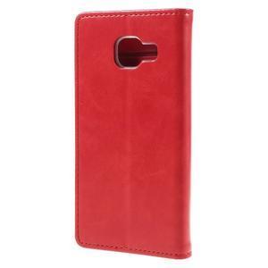 Mercury peněženkové pouzdro na Samsung Galaxy A3 (2016) - červené - 2
