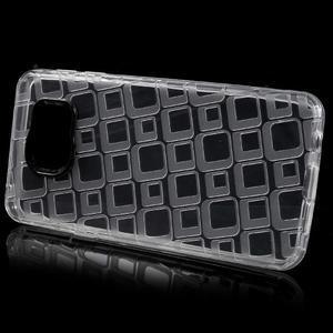 Square gelový obal na mobil Samsung Galaxy A3 (2016) - transparentní - 2