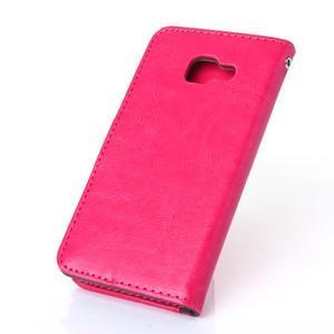 Wallet pouzdro na mobil Samsung Galaxy A3 (2016) - rose - 2