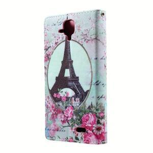 Peněženkové pouzdro na mobil Lenovo A536 - Eiffelova věž - 2