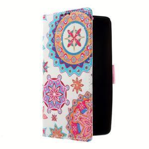 Peňaženkové puzdro pre mobil Lenovo A536 - mandala - 2