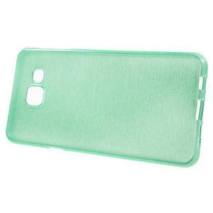 Gelový obal s motivem broušení na Samsung Galaxy A3 (2016) - azurový - 2