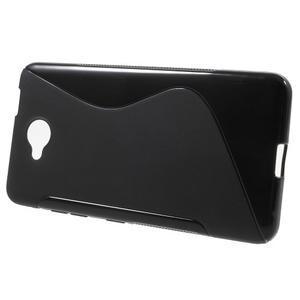 S-line gelový obal na mobil Microsoft Lumia 650 - černý - 2