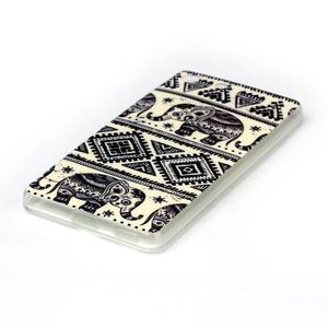 Style gelový obal pro Sony Xperia M5 - slon - 2
