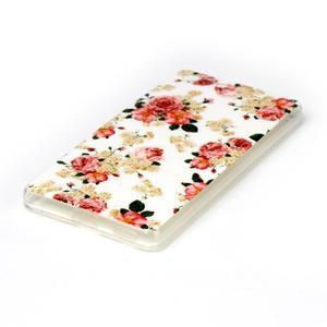 Style gelový obal pro Sony Xperia M5 - květinová koláž - 2