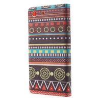 Stand peněženkové pouzdro na Sony Xperia M5 - tribal - 2/7
