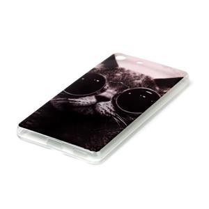 Style gelový obal pro Sony Xperia M5 - kocour - 2