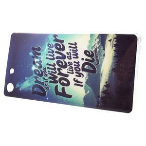 Gelovy obal na mobil Sony Xperia M5 - dream - 2