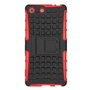 Outdoor odolný kryt na mobil Sony Xperia M5 - červený - 2