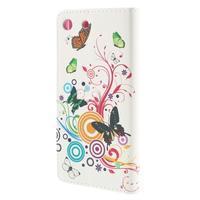 Crafty peněženkové pouzdro na Sony Xperia M5 - motýlci - 2/7