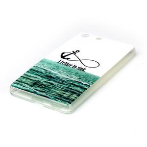Style gelový obal pro Sony Xperia M5 - kotva - 2