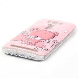 Softy gelový obal na mobil Asus Zenfone 2 Laser - medvídek - 2