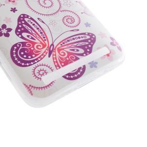 Softy gelový obal na mobil Asus Zenfone 2 Laser - motýlek - 2