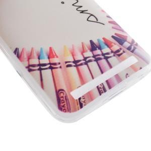 Softy gelový obal na mobil Asus Zenfone 2 Laser - smile - 2