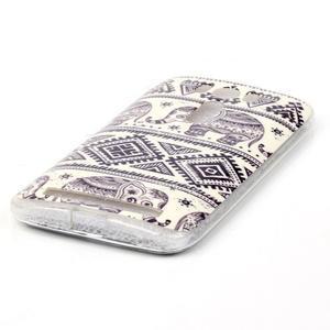 Softy gelový obal na mobil Asus Zenfone 2 Laser - sloni - 2