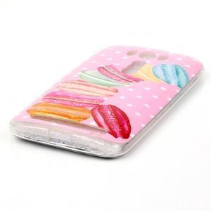 Softy gelový obal na mobil Asus Zenfone 2 Laser - makrónky - 2