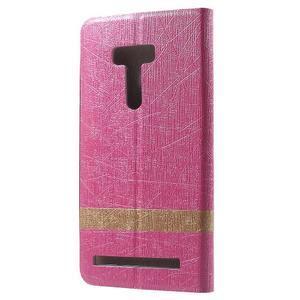 Lines pouzdro na mobil Asus Zenfone Selfie ZD551KL - rose - 2