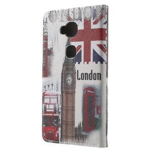 Emotive PU kožené pouzdro na mobil Honor 5X - Velká Británie - 2