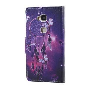 Knížkové pouzdro na mobil Honor 5X - lapač snů - 2
