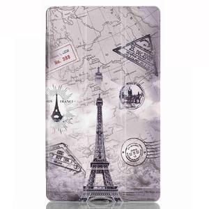 Třípolohové pouzdro na tablet Huawei MediaPad M2 8.0 - Eiffelova věž - 2