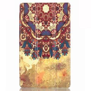 Třípolohové pouzdro na tablet Huawei MediaPad M2 8.0 - henna - 2
