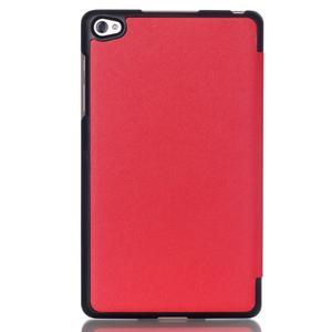 Trifold polohovatelné pouzdro na tablet Huawei MediaPad M2 8.0 - červené - 2