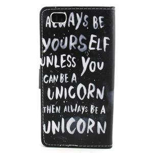 Emotive pouzdro na mobil Huawei P8 Lite - unicorn - 2